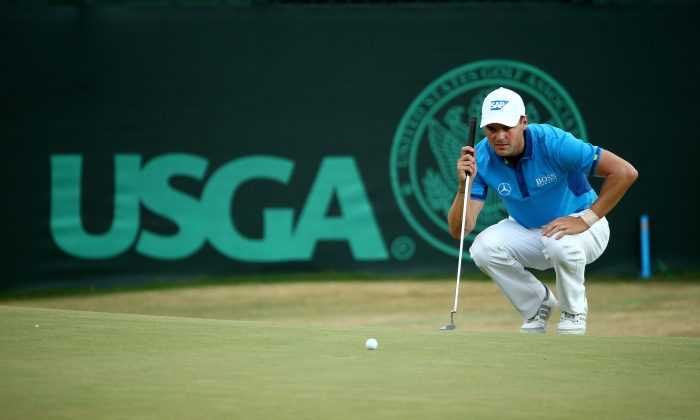 Martin Kaymer of Germany waits on the 14th green during the first round of the 114th U.S. Open at Pinehurst Resort & Country Club, Course No. 2 on June 12, 2014 in Pinehurst, North Carolina. (Streeter Lecka/Getty Images)