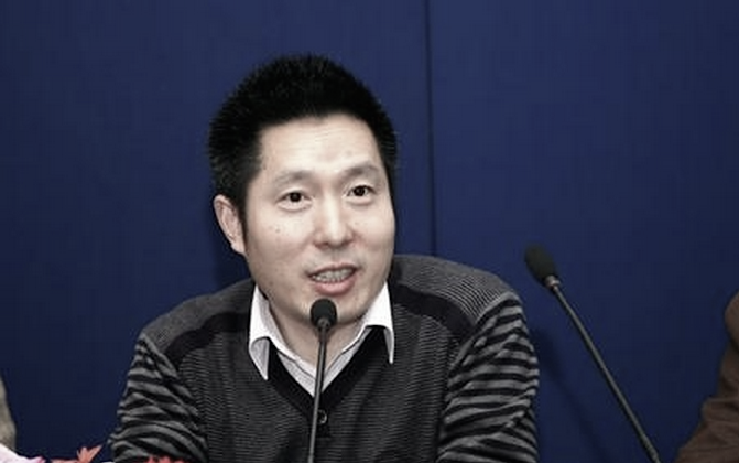 Guo Zhenxi, director of the Financial Channel at Chinese Central Television, was recently arrested and is under investigation for bribery, reports say. (Screenshot/sina.com)