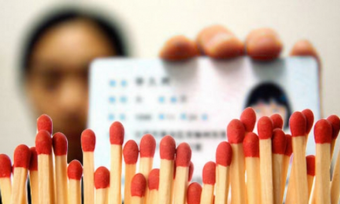 Chinese in Liaoning Province will need to register with their real names from June onwards, if they want to buy materials that may be used in explosive devices, including matches, cigarette lighters, gas tanks, fireworks, and retail gasoline. (Screenshot via secretchina.com)