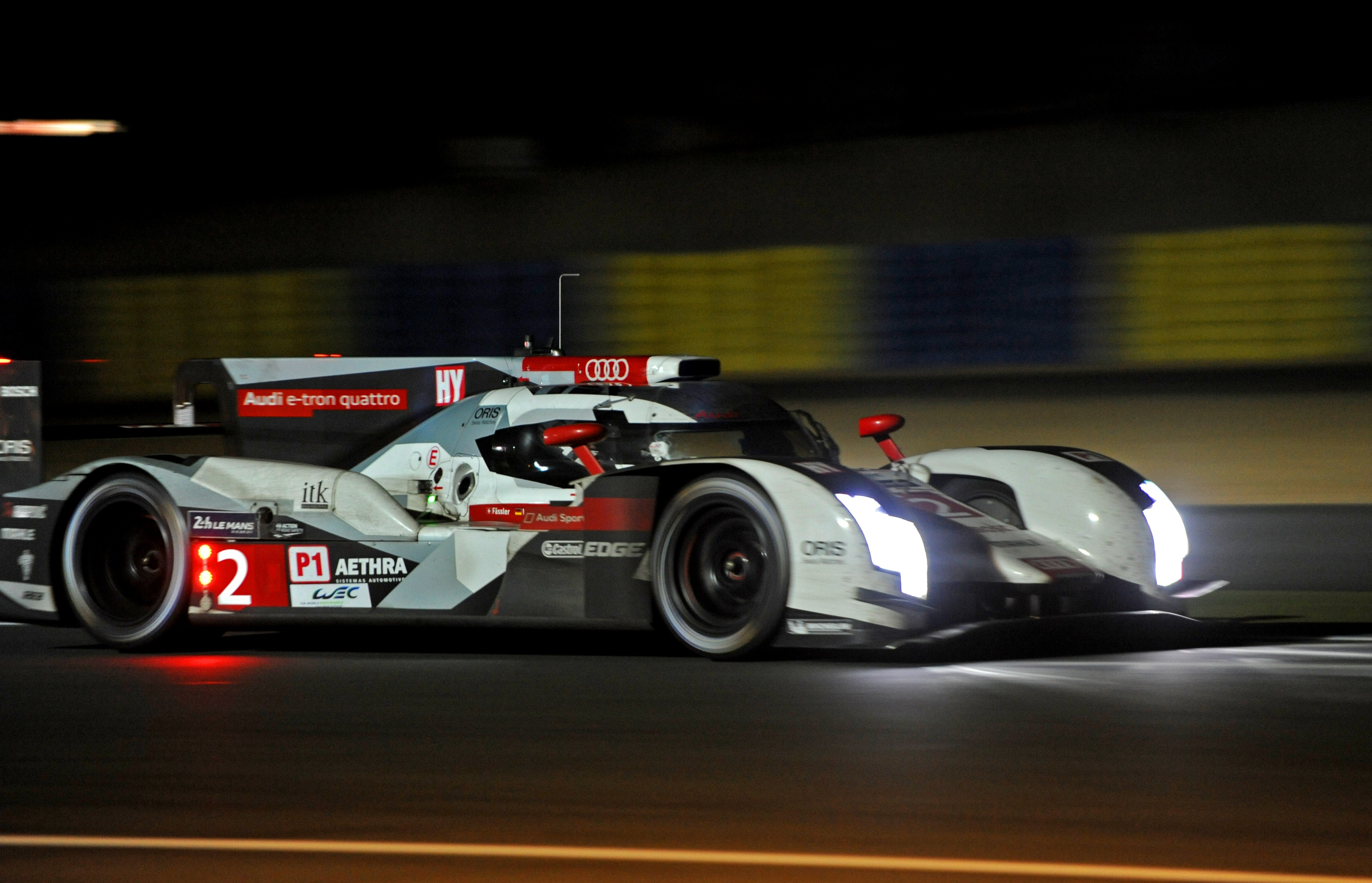 Leading Toyota Stops on Course With Ten Hours Left in Le Man