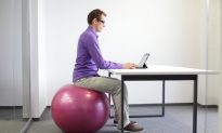 Replace Your Chair With a Stability Ball