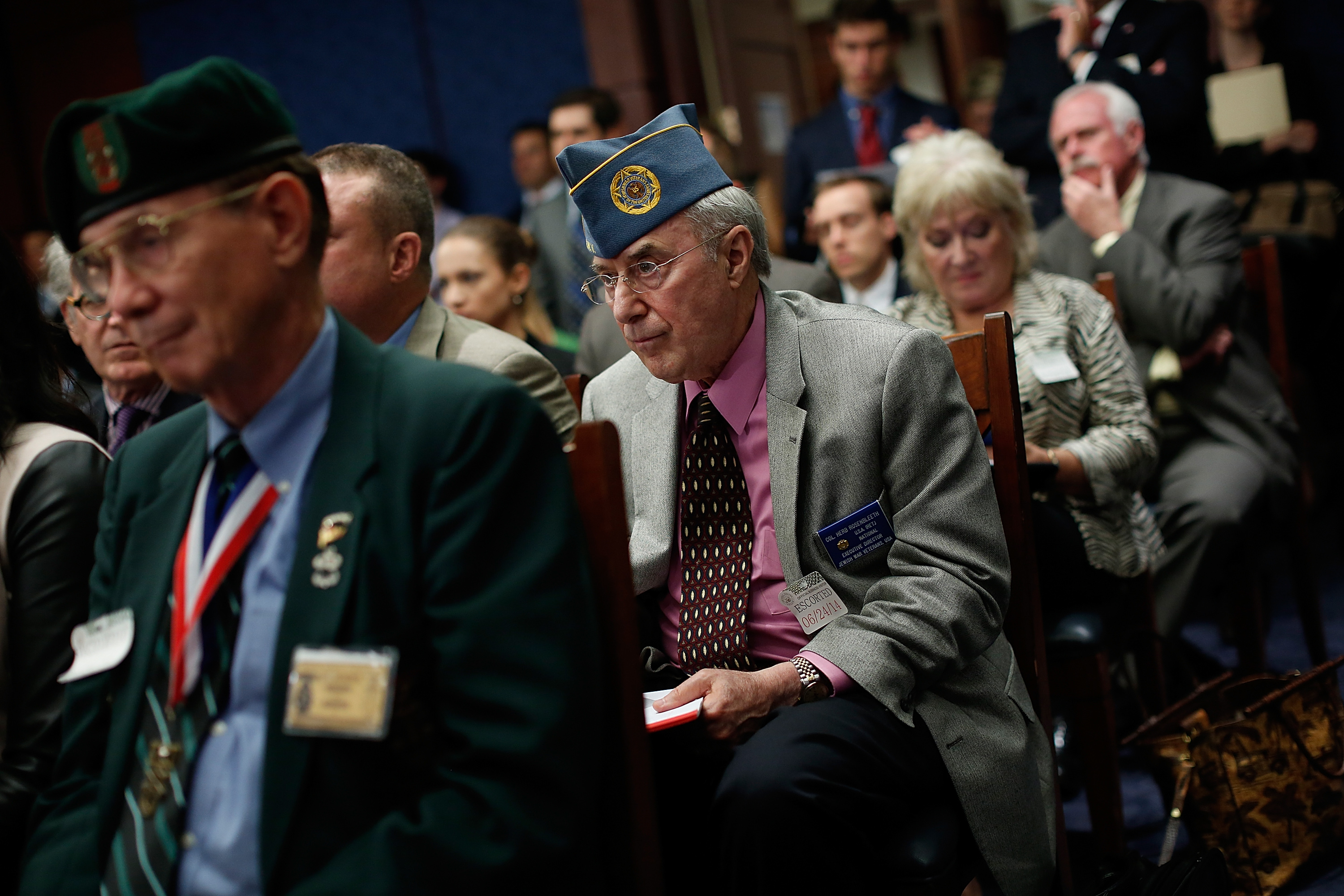 America's Veterans Deserve Honor, Homes, Health Care