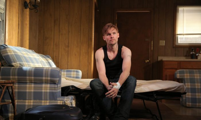 Richard (Scott Haze) is still suffering from the accusation of rape that sent him to prison. (Joan Marcus)