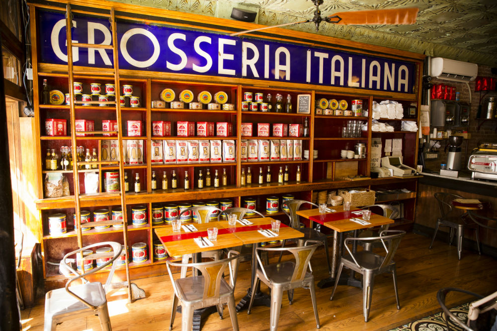 Tavola carries over an Old World feeling from the previous occupant, Manganaro's Grosseria Italiana. (Edward Dai/Epoch Times)