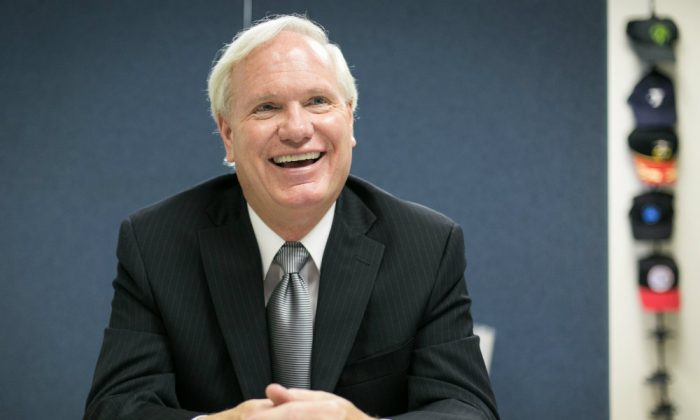 Senator Tony Avella at his office in Queens, New York City, on June 24, 2014. (Benjamin Chasteen/Epoch Times)