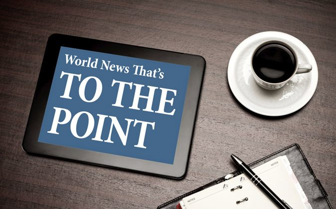 World News to the Point: July 23, 2014. (Photos.com)