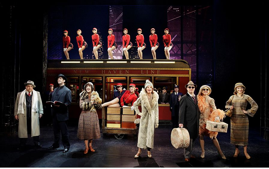 Theater Review Bullets Over Broadway Bullets Over