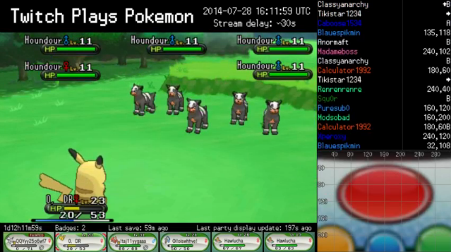 Twitch Plays Pokemon X and Y: Anarchy on Actual 3DS Instead of Emulator