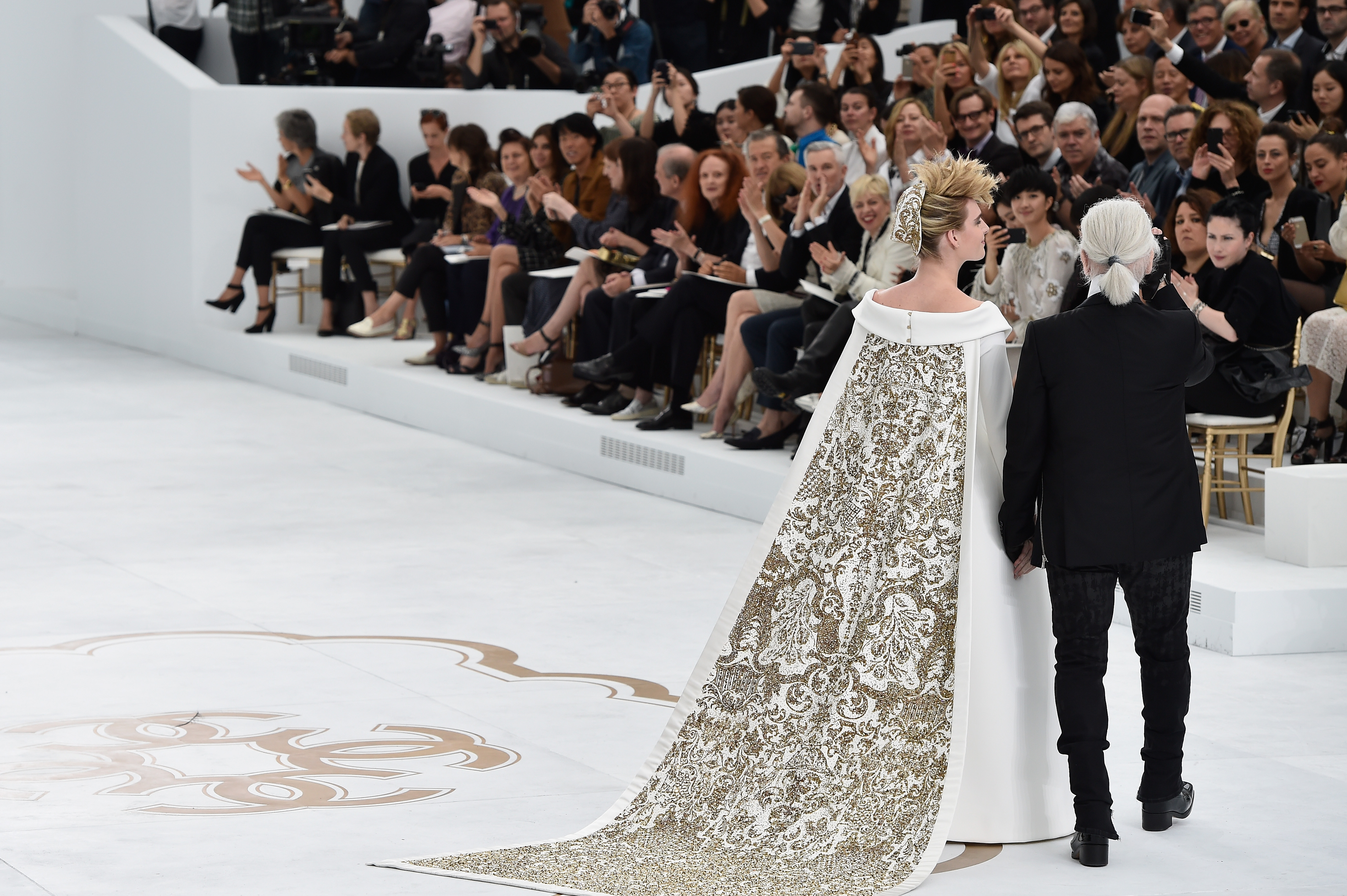 Lagerfeld Talks About Chanel Haute Couture A/W 2014 Collection