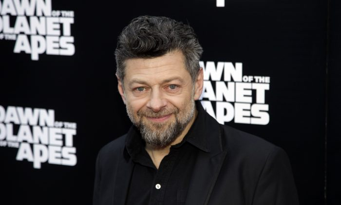 """Actor Andy Serkis attends a screening of """"Dawn of The Planet of The Apes"""" on Tuesday, July 8, 2014, in New York. (Photo by Andy Kropa/Invision/AP)"""