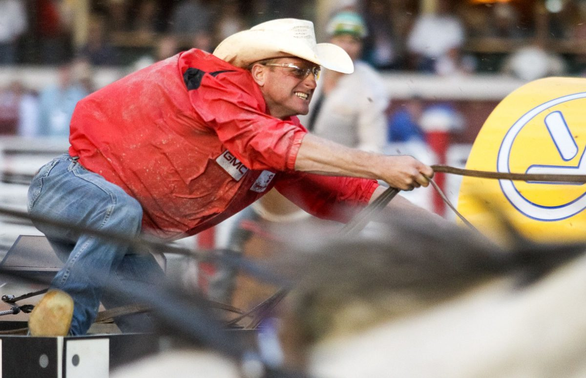 Chuckwagon Driver Hyped For Calgary Stampede Stanley Cup