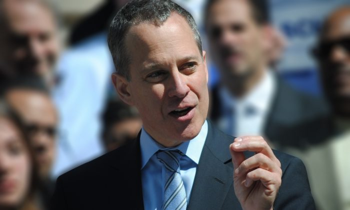 New York Attorney General Eric T. Schneiderman. (PRNewsFoto/NYAG)