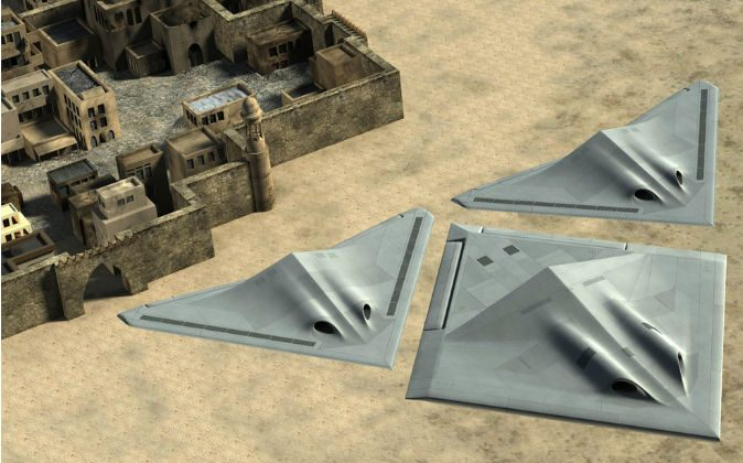 BAE's Transformer concept plane.