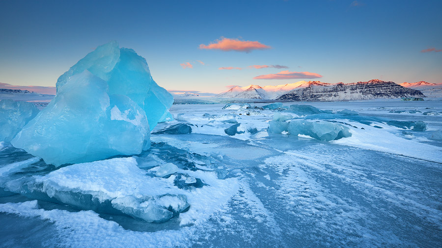 """Fields of Ice."" Photographer Erez Marom describes:"