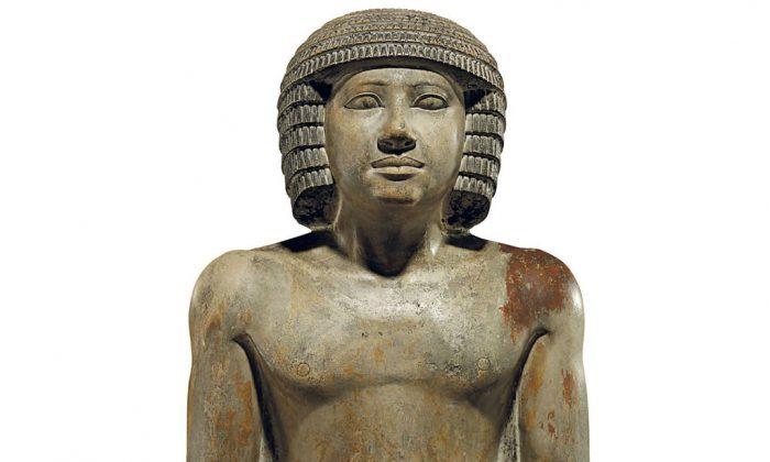 The statue of Sekhemka. (Christie's)