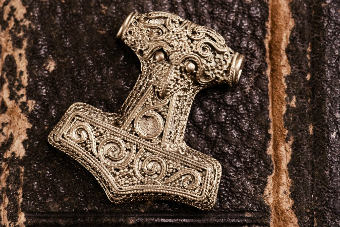 Discovery Of Hammer Thor Artifact Solves Mystery Viking Amulets