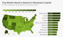 Tiny Rhode Island Is America's Marijuana Capital