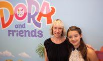 Popular Cartoon Voice Actress Lauds New Dora Show at Children's Museum of Manhattan