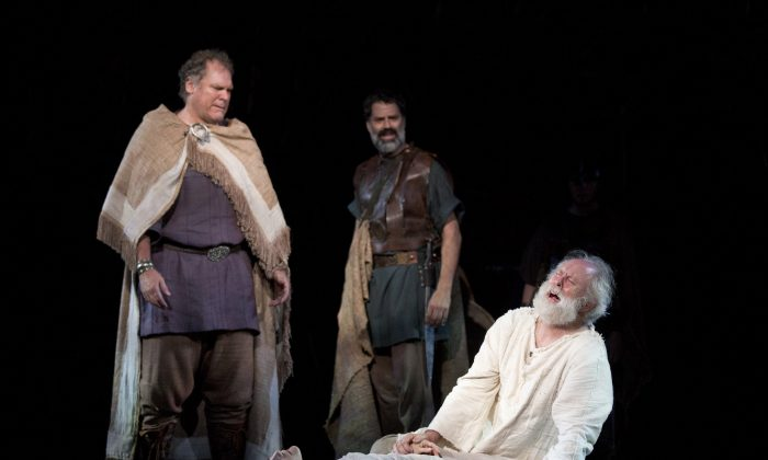 the earl of kent in the play king lear by william shakespeare King lear is a 2018 british-american television film directed by richard eyre an adaptation of the play of the same name by william shakespeare , cut to just 115 minutes, was broadcast on bbc two on 28 may 2018 [1.