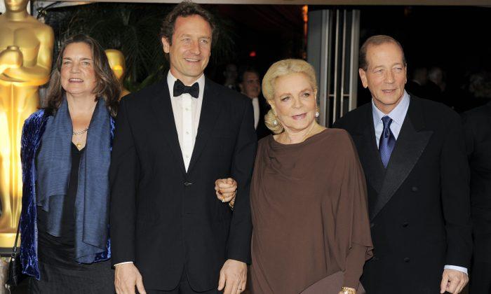 Leslie Bogart, Sam Robards, Stephen Bogart: Children of ...