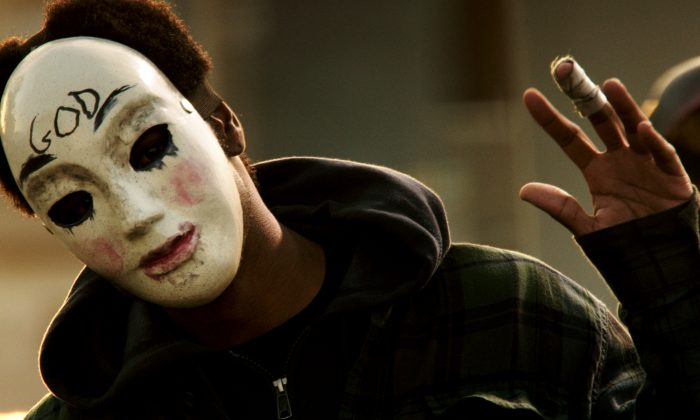 Louisville Purge Hoax: Detroit, Chicago (112 People Murdered is a Hoax) Also Get Rumors on The Purge 2 'Anarchy' (AP Photo/Universal Pictures)