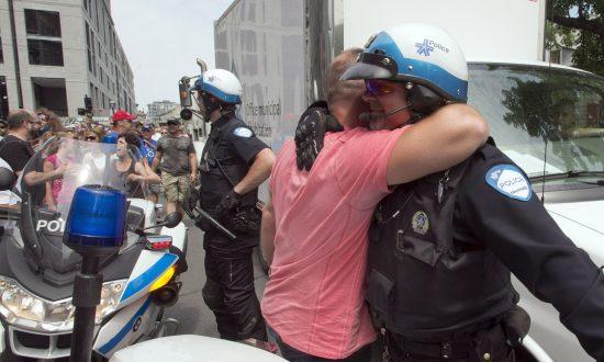 Quebec Premier Condemns Montreal Pension Protest, Police Apathy
