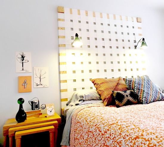 New Bedroom Bed Volleyball Bedroom Decorating Ideas Rustic Bedroom Decor Diy Bedroom Blinds Ideas: 11 Low-Cost DIY Or Recycled Headboard Projects