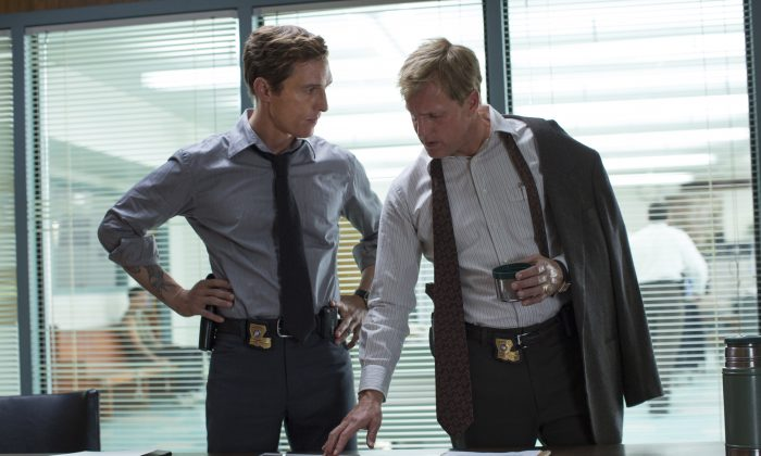 The plot of True Detective Season 2 may have just been leaked after months of silence from the show's stars and writers.  (AP Photo/HBO, Michele K. Short)
