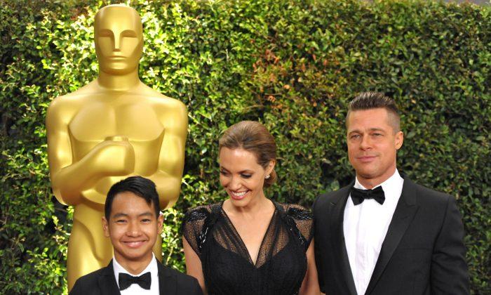 Angelina jolie children ages
