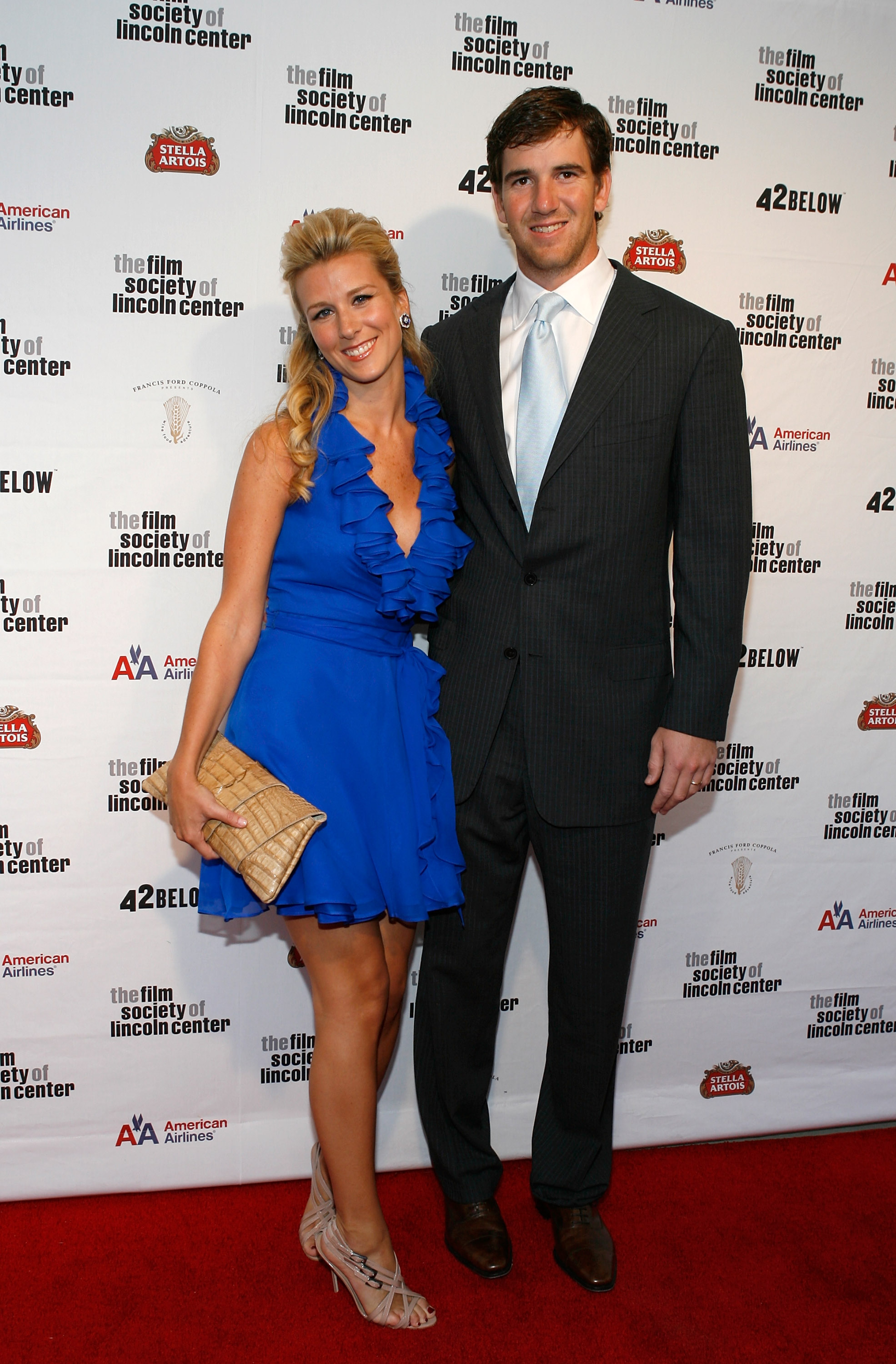 Eli Manning and Abby Mcgrew at 36th Film Society of Lincoln Center's Gala