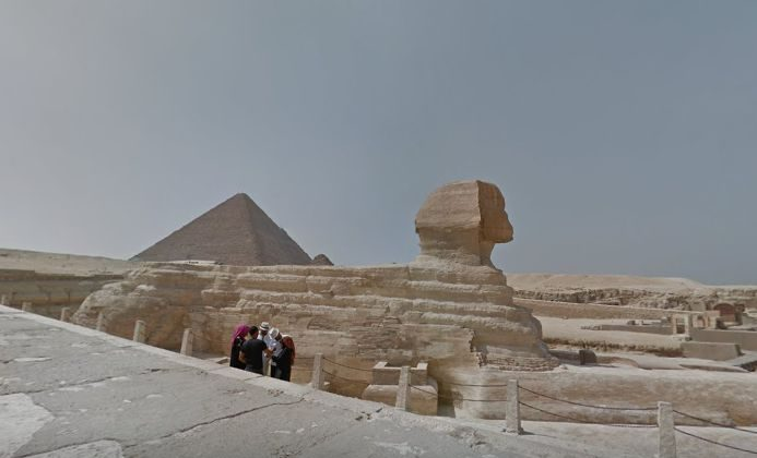 Google maps street view has pyramids sphynx and ancient egypt google maps street view has pyramids sphynx and ancient egypt monuments now gumiabroncs Images