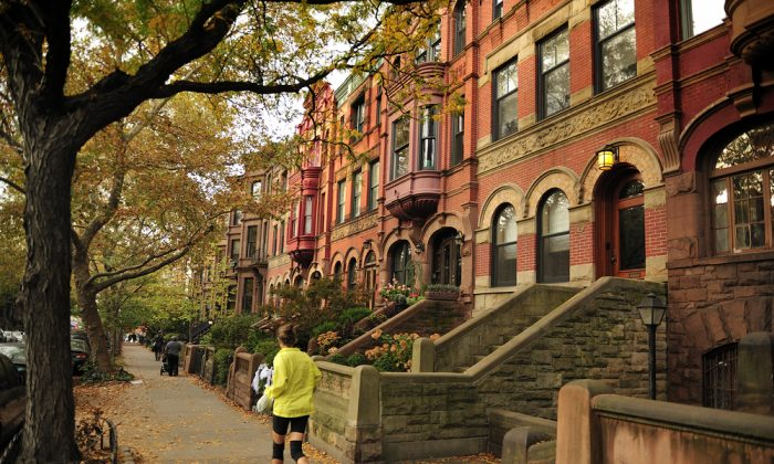 Terraced house in the neighborhood of Brooklyn Heights, upper middle class residential neighborhood, Brooklyn New York. (Shutterstock*)