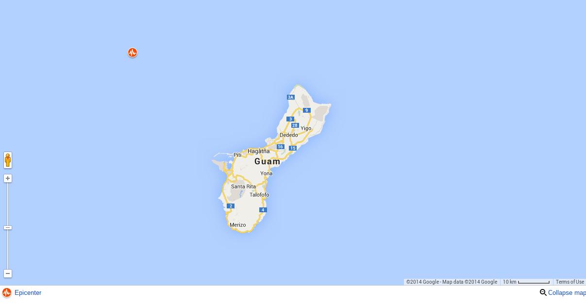 Earthquake Today Near Guam: 7.1 Quake Hits Near Piti Village ...