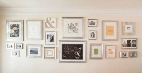 Wall Art Picture Gallery via Hometalker Life in Velvet