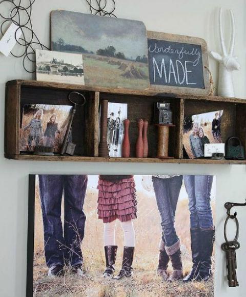 Gallery Wall via Hometalker Finding Home