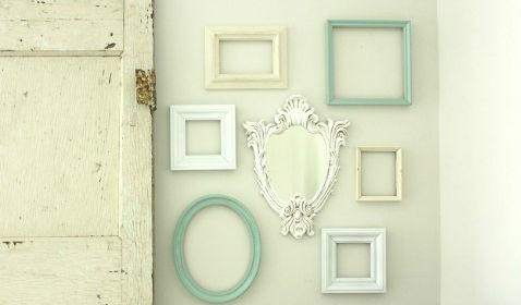 Gallery Wall of Frames via Hometalker Megan Brooke H
