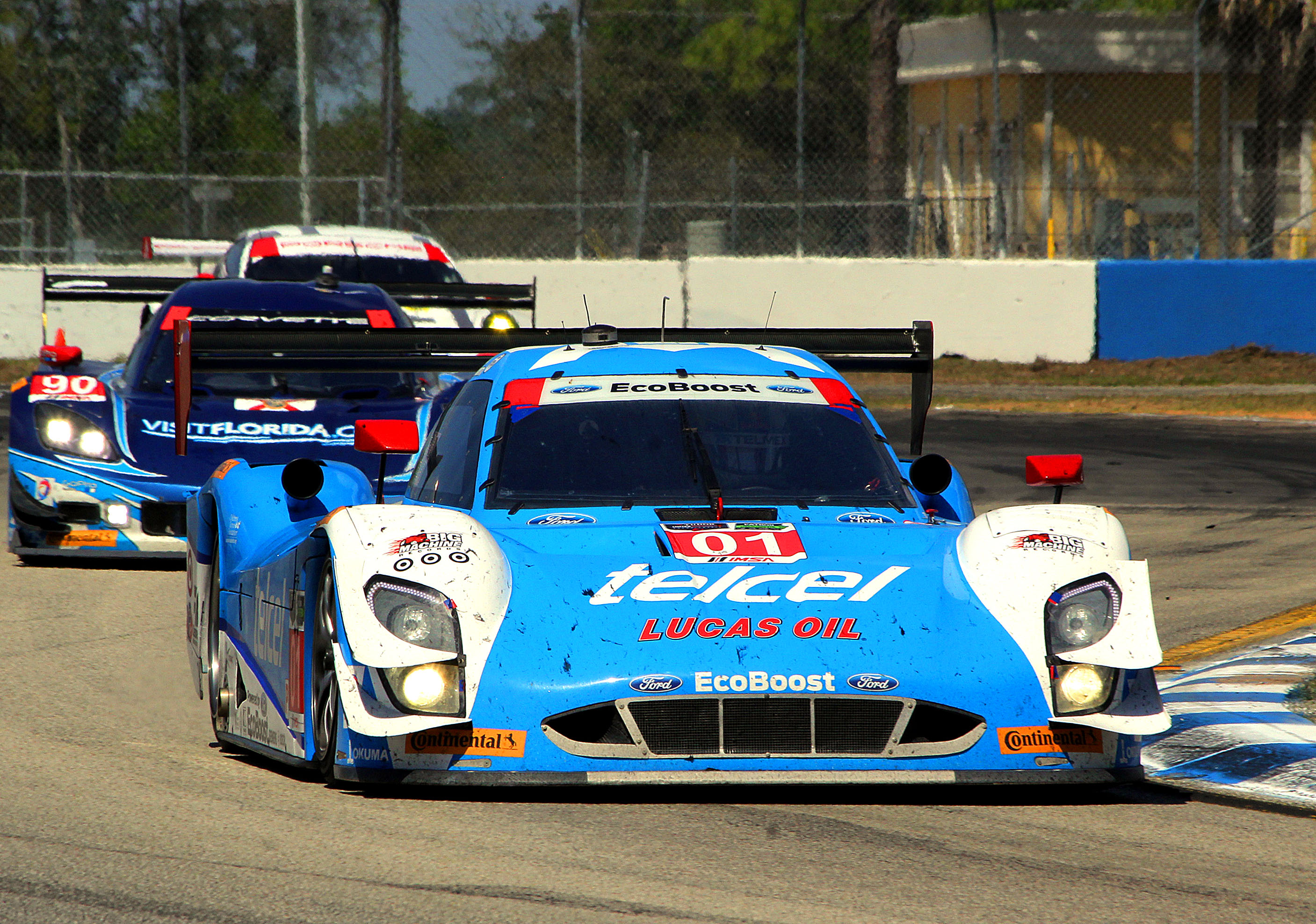 Pruett Rojas Win TUSC Lone Star Le Mans Memo Rojas