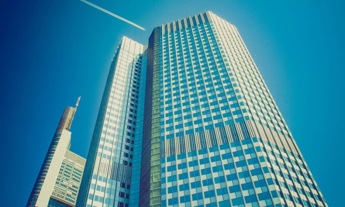 ECB building in Frankfurt, Germany. (Shutterstock*)