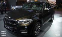 Video: 2015 BMW X6 SUV at the Paris Auto Show