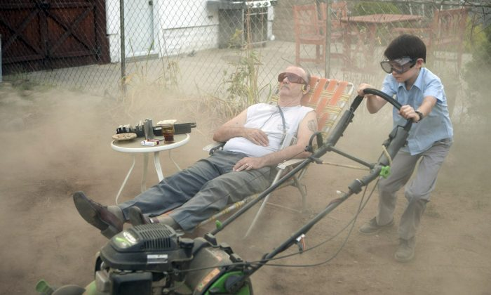 "Bill Murray and Jaeden Lieberher in ""St. Vincent."" (The Weinstein Company)"