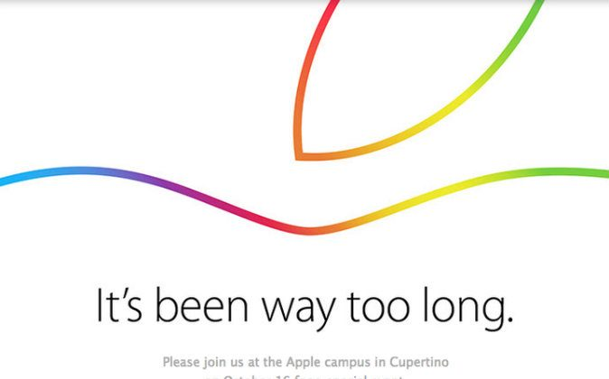 The Apple Event, which is expected to see the release of the iPad Air 2 and possibly OS X Yosemite, will be live streamed on Thursday.