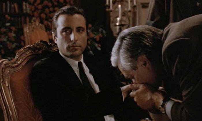 Andy Garcia in the Godfather III