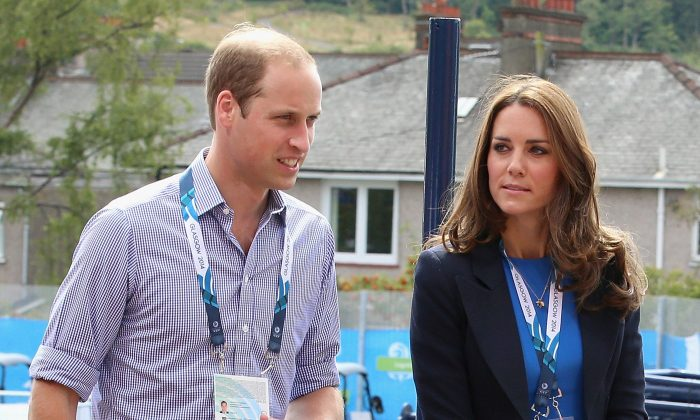 Kate Middleton, Duchess of Cambridge, and her husband Prince William in a file photo. Kate's pregnancy has prompted her to retreat to her parents mansion in Bucklebury. (Chris Jackson/Getty Images, file)