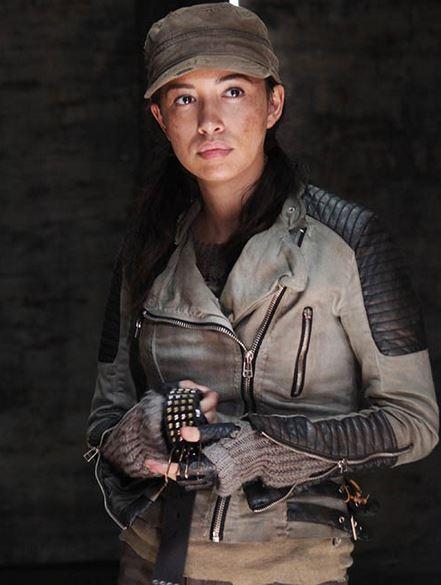 Rosita Espinosa (Christian Serratos), one of Abraham's group, in season 5. (AMC)