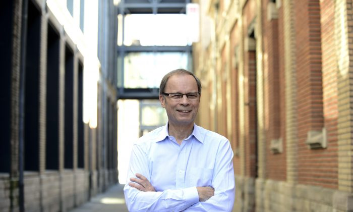 Laureate of the 2014 Nobel Prize in Economics, French economist Jean Tirole is seen at the Toulouse School of Economics (TSE) on October 13, 2014 in Toulouse. (Remy Gabalda/AFP/Getty Image
