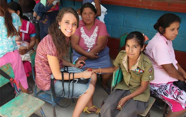 Jinger Duggar in Central America earlier this year. (Duggar Family)