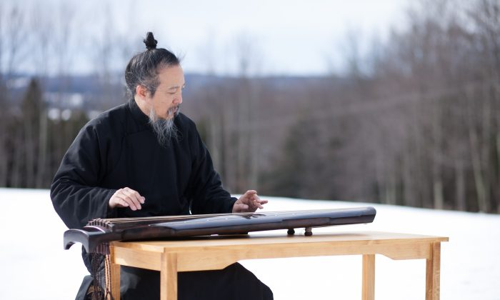 Guqin master Yuan Jungping in Feb. 2010, when he held a workshop in New York City. (Henry Chan/Epoch Times)