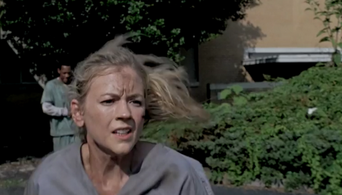 Beth at wherever she is in The Walking Dead season 5. Will Emily Kinney's character appear at all in episode 2? (AMC/YouTube)