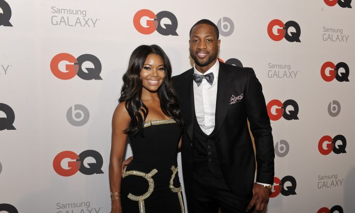 Actress Gabrielle Union and Miami Heat Shooting Guard Dwyane Wade attend GQ & LeBron James NBA All Star Party sponsored by Samsung Galaxy and Beats at Ogden's Museum's Patrick F. Taylor Library on February 15, 2014 in New Orleans, Louisiana. (Photo by Erika Goldring/Getty Images for GQ)