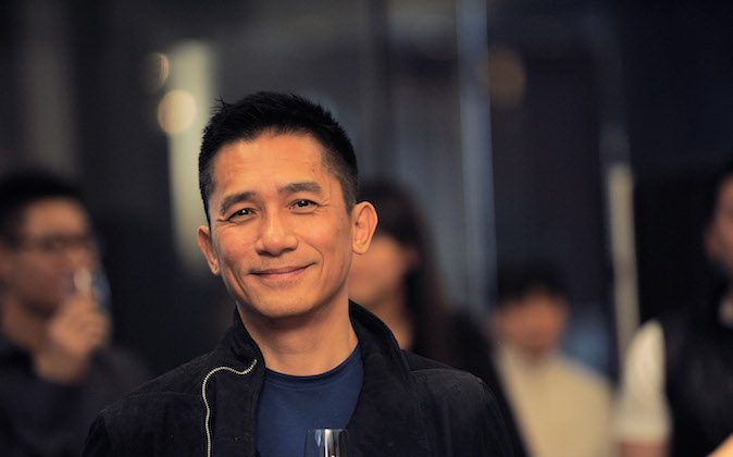 Hong Kong international actor Tony Leung attending the Chrome Hearts Beijing Store Opening on May 14, 2014 in Beijing, China. (Etienne Oliveau/Getty Images for Chrome Hearts)